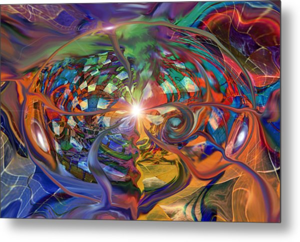 World Within A World Metal Print