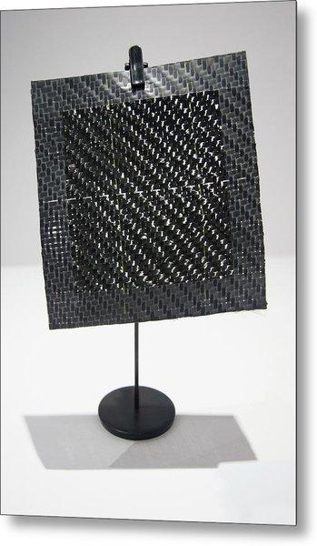 Woven Composite Material Metal Print