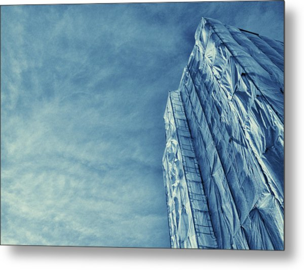 Wrapped Cathedral Metal Print