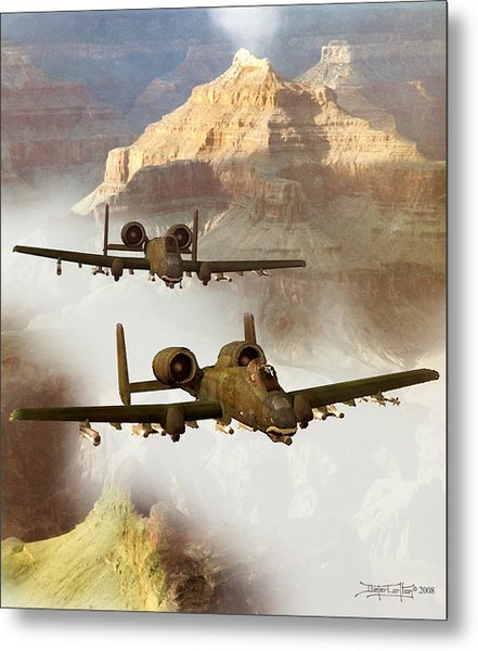 Wrath Of The Warthog Metal Print