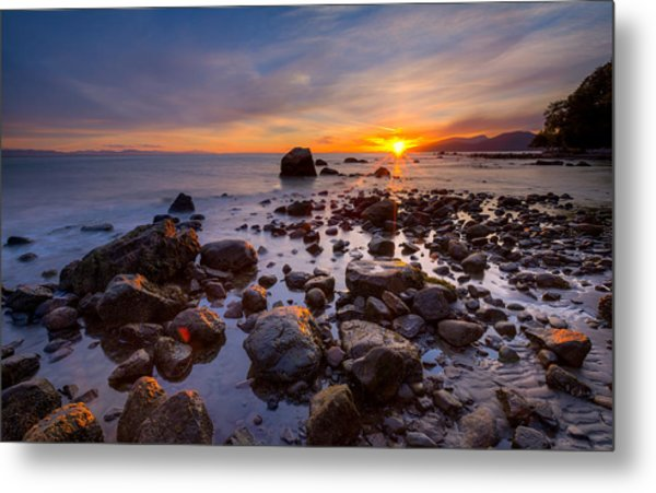 Wreck Beach Metal Print