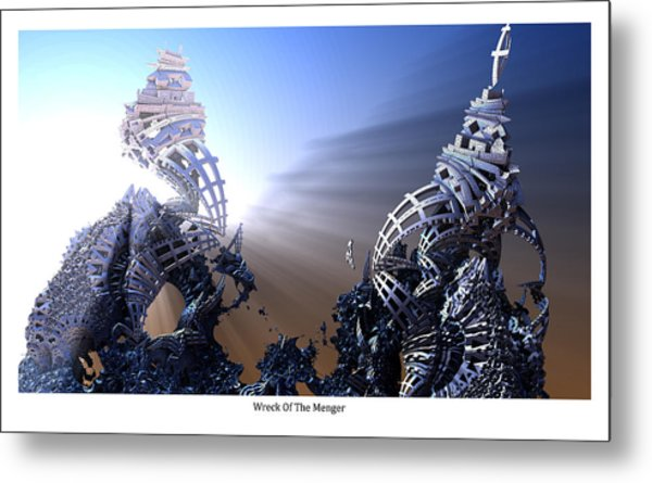 Wreck Of The Menger Metal Print