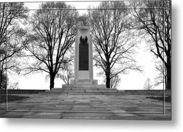 Wright Brothers Memorial Metal Print