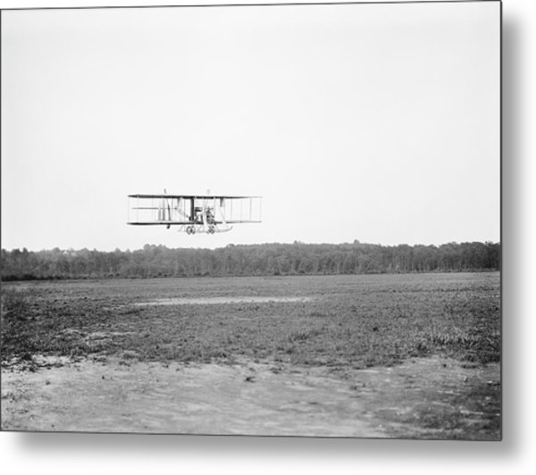 Wright Model B Airplane Metal Print