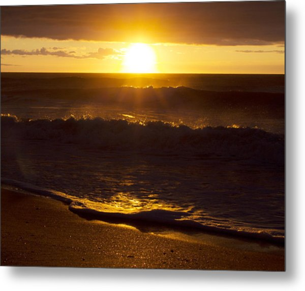 Wrightsville Beach Sunrise Metal Print