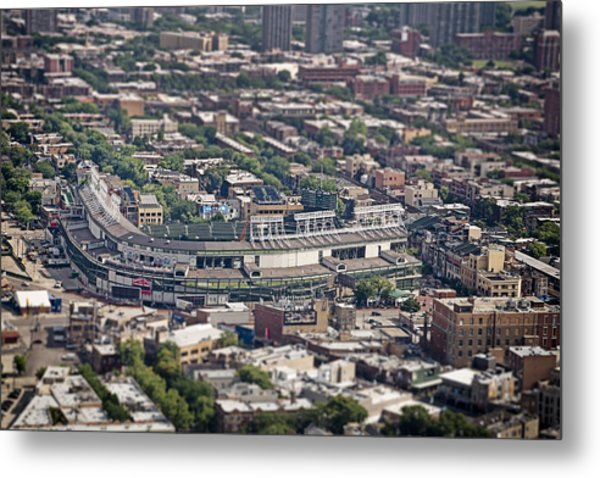 Wrigley Field - Home Of The Chicago Cubs Metal Print