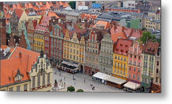 Wroclaw Metal Print by Kees Colijn