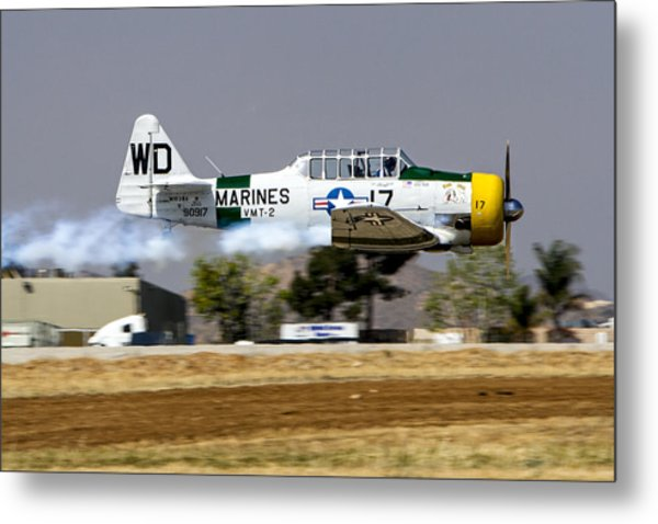 Wwii Fighter 1 Metal Print