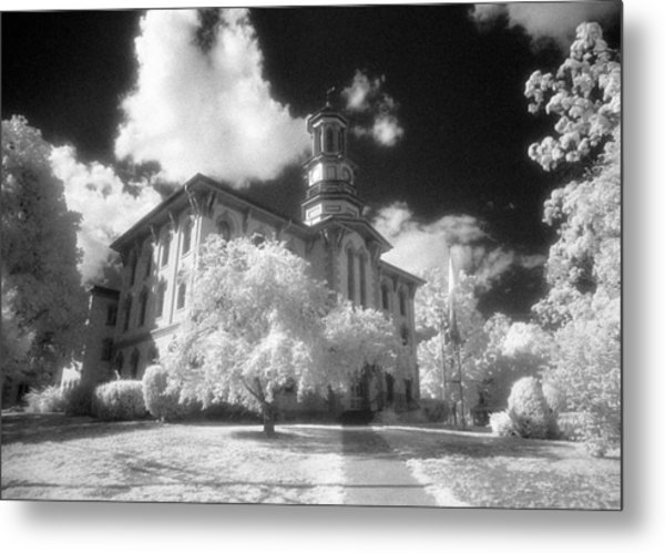 Wyoming County Courthouse Metal Print