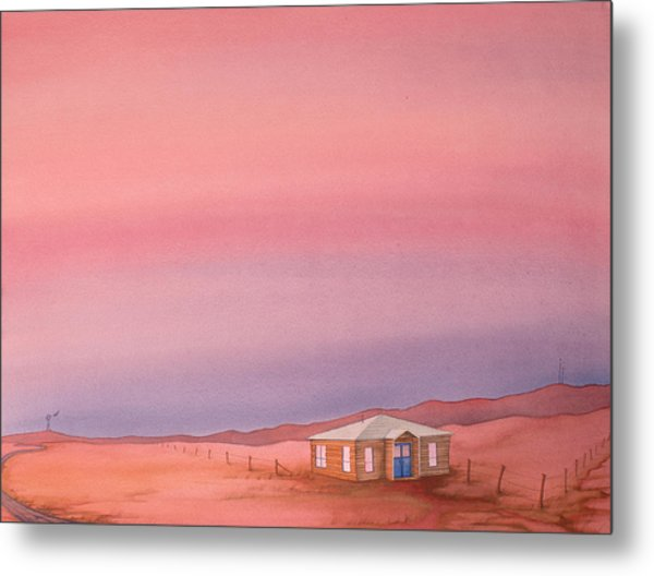 Wyoming Homestead Metal Print