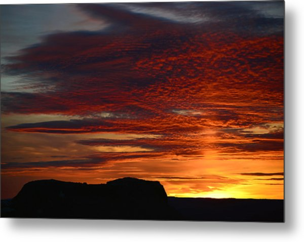 Wyoming Sunset #1 Metal Print