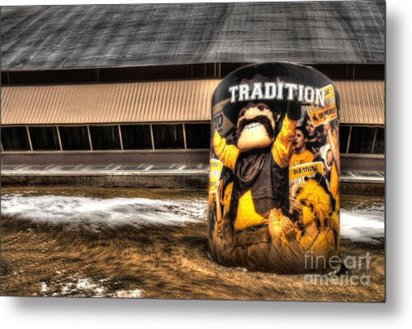 Wyoming Tradition Metal Print