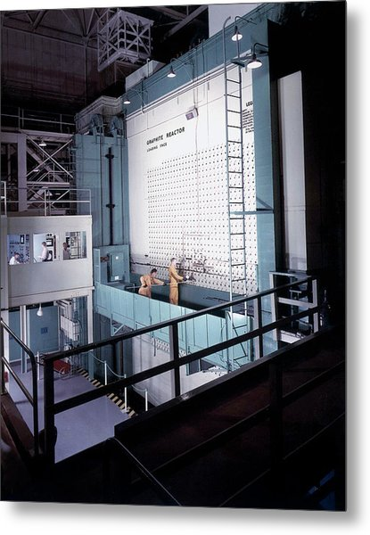 X-10 Graphite Reactor Metal Print by Us Department Of Energy
