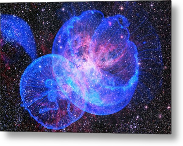 X-factor In Universe. Strangers In The Night Metal Print