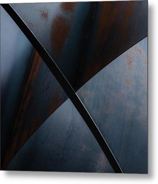 X Metal Print