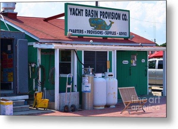 Yacht Basin Provision Co. Metal Print