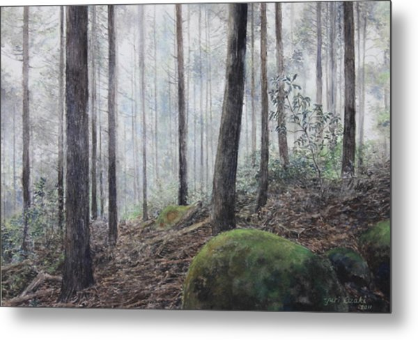 Yakiyama Trail 3 Metal Print by Yuri Ozaki