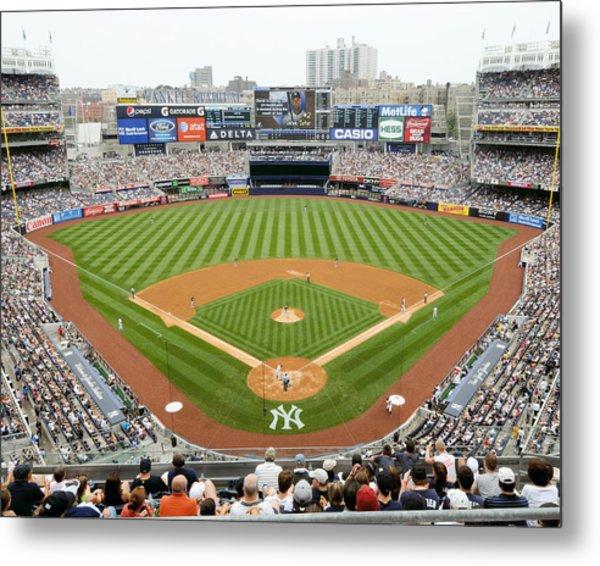 Yankee Stadium Ballpark New Metal Print