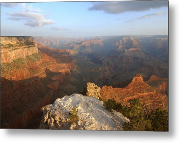 Yavapai Point Morning Metal Print by Stephen  Vecchiotti