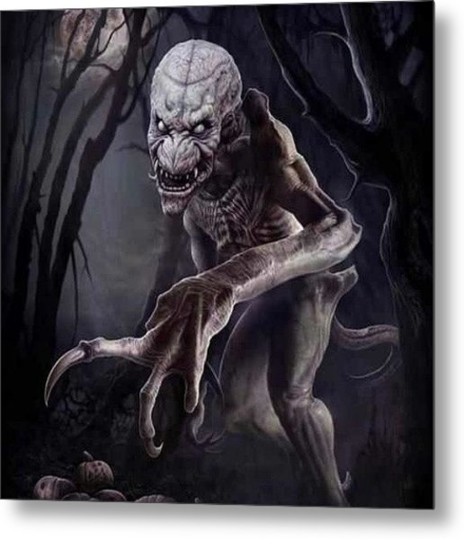 Yeah, Some Semblance Of #pumpkinhead Metal Print