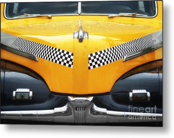 Yellow Cab - 1 Metal Print by Nikolyn McDonald