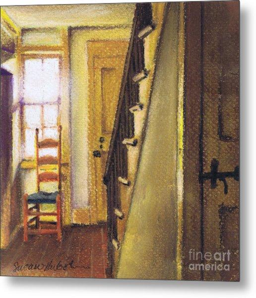 Yellow Room Metal Print by Susan Herbst