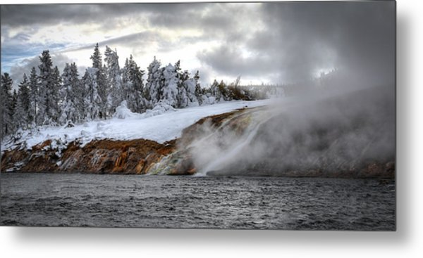 Yellowstone's Fire And Ice Metal Print