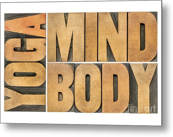 Yoga Mind And Body  Metal Print