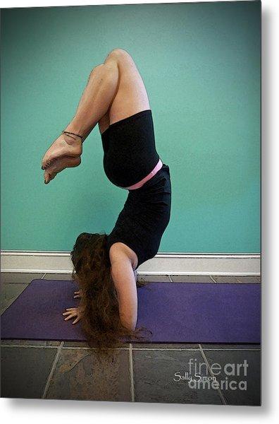 Yoga Study 10 Metal Print