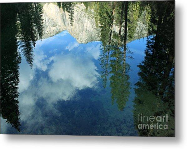 Yosemite Reflection 2 Metal Print