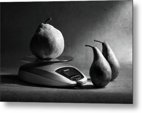You Really Need A Diet, Friend! Metal Print