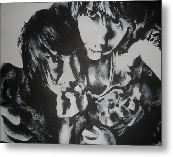 Young Lovers Metal Print