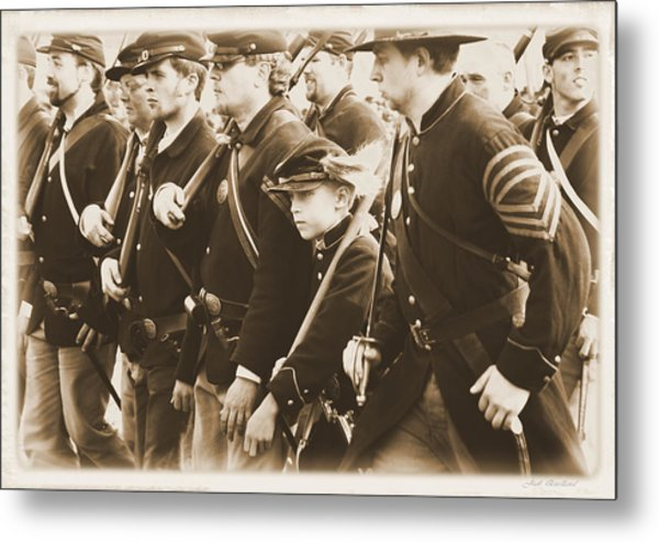 Young Soldier Metal Print