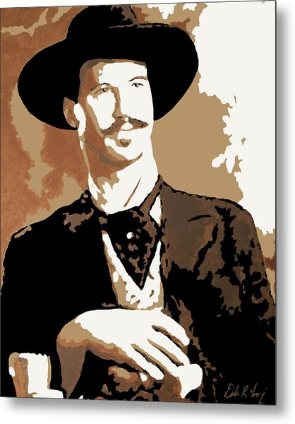 Metal Print featuring the painting Your Huckleberry by Dale Loos Jr