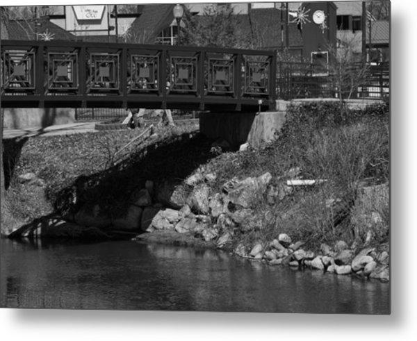 Z Bridge Metal Print