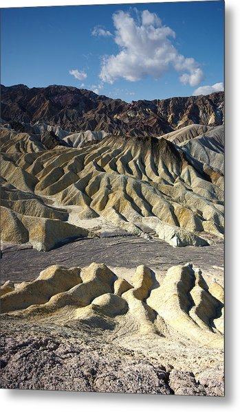 Zabriskie Point Death Valley By Frank Lee Hawkins Metal Print