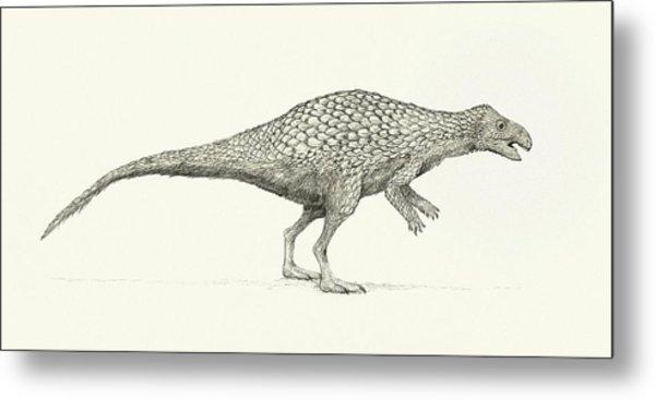 Zalmoxes Dinosaur Metal Print by Nemo Ramjet