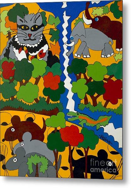 Zane Grey In Africa Metal Print