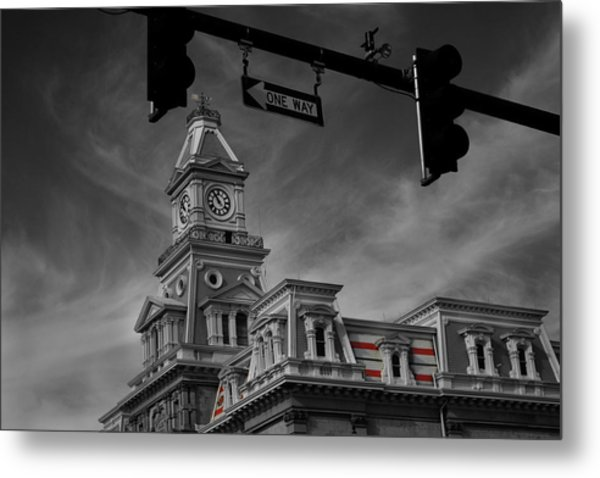 Zanesville Oh Courthouse Metal Print