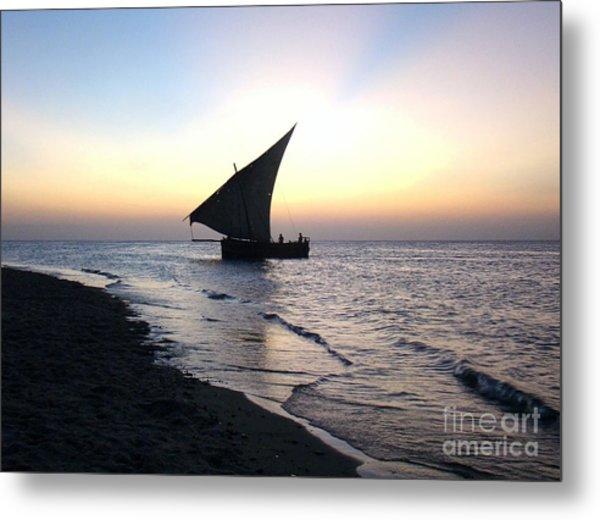 Zanzibar Sunset 20 Metal Print by Giorgio Darrigo