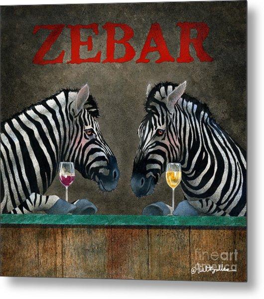 Zebar... Metal Print