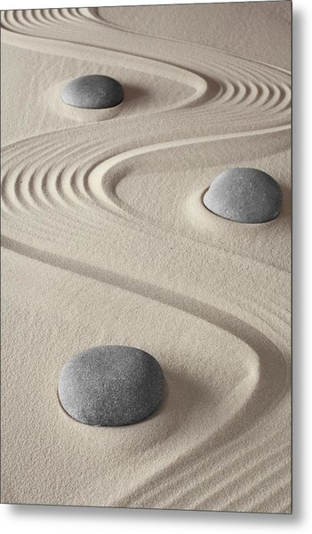 Zen Garden Metal Print by Dirk Ercken