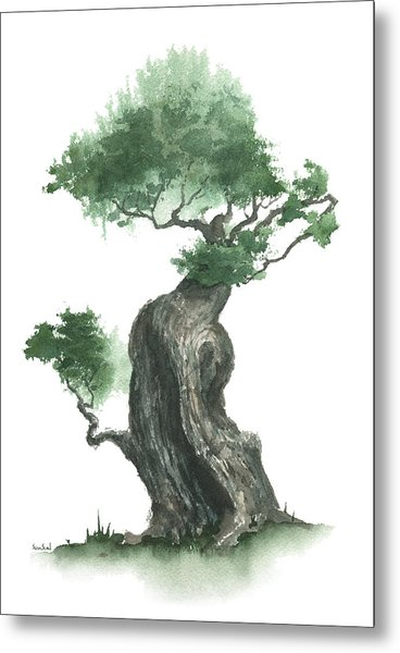 Zen Tree 1000 Metal Print