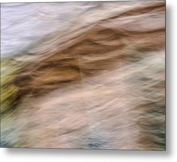 Zion Fall Abstract Metal Print