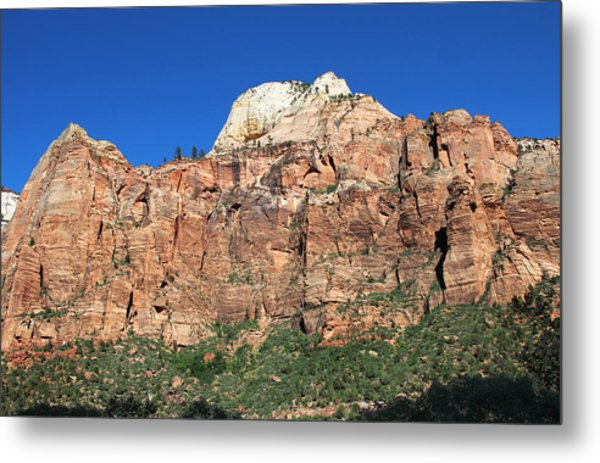Metal Print featuring the photograph Zion Wall by Jemmy Archer