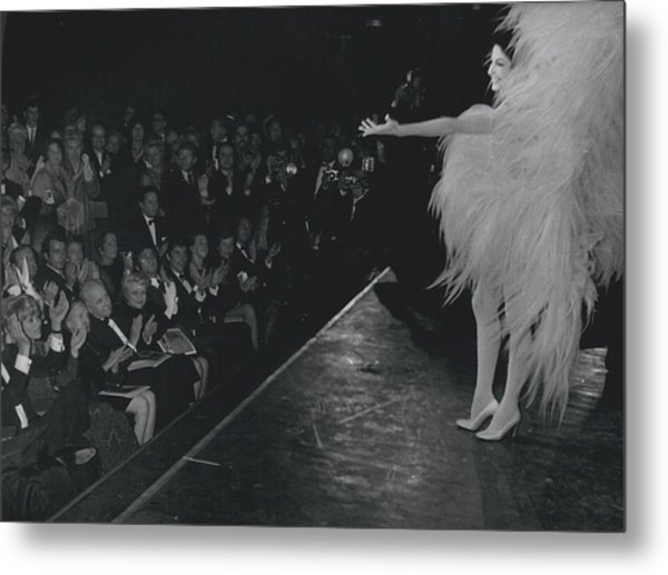 Zizi Jea Nmaire Stars In Olympia Show Metal Print by Retro Images Archive