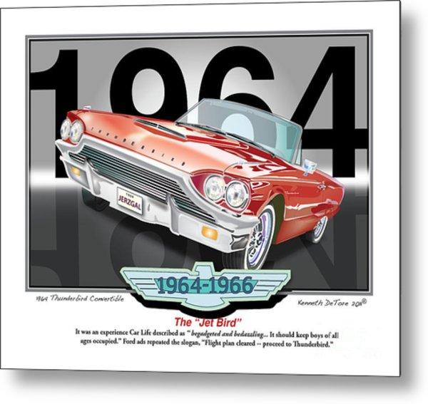 1964 Thunderbird Metal Print