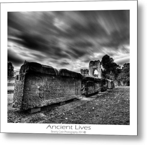 Ancient Lives Metal Print