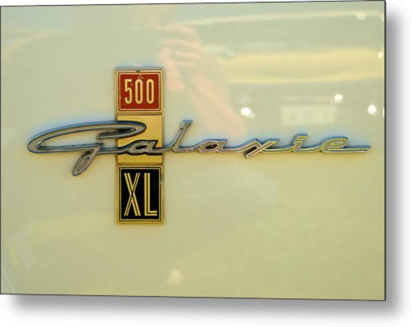 1963 Ford Galaxie Metal Print
