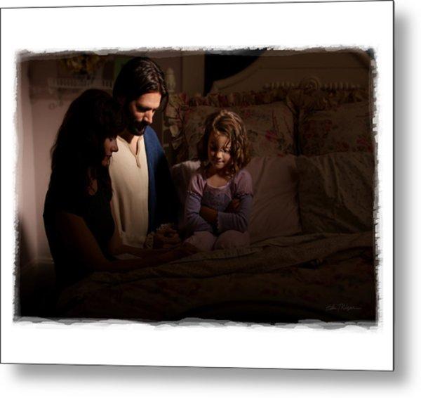 A Daughters Prayer Metal Print